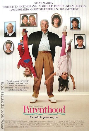 Parenthood 1989 Movie poster Steve Martin
