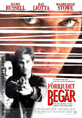 Unlawful Entry 1992 poster Kurt Russell