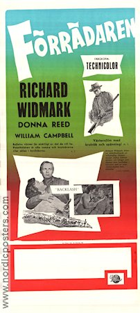 Backlash 1956 Richard Widmark Donna Reed