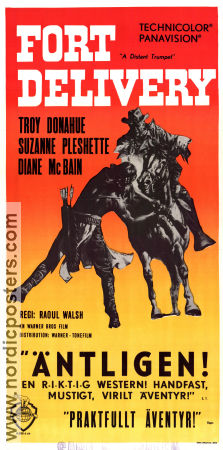 A Distant Trumpet 1964 poster Troy Donahue Raoul Walsh