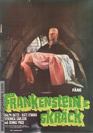 Horror of Frankenstein 1971 poster Ralph Bates