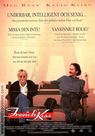 french kiss poster 1995 meg ryan original