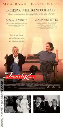 french kiss movie poster 1995 original nordicposters