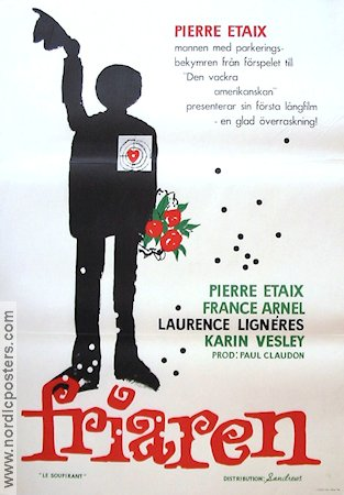 Le Soupirant 1962 Movie poster Pierre Etaix