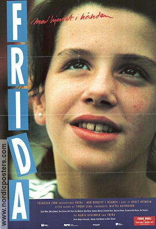 Frida 1991 Movie poster Berit Nesheim