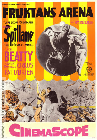 Ring of Fear 1954 Mickey Spillane Clyde Beatty