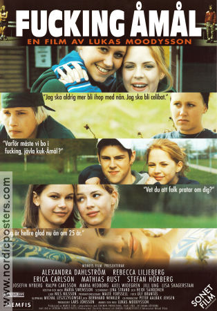 Show Me Love 1997 Movie poster Alexandra Dahlstr�m Lukas Moodysson