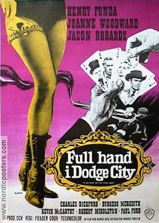 A Big Hand for the Little Lady 1966 Movie poster Henry Fonda