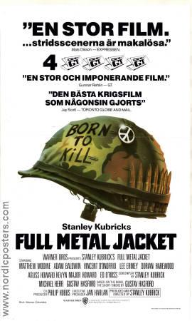 full metal jacket movie poster 1987 original nordicposters