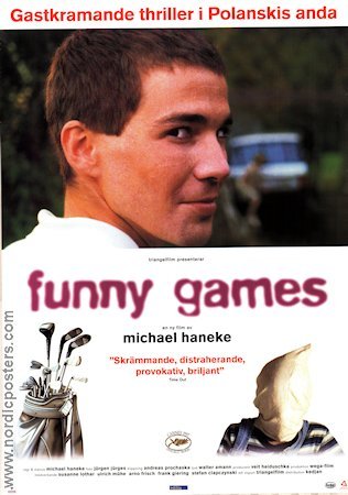 Funny Games 1997 Movie poster Michael Haneke