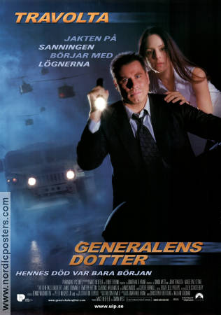 The General's Daughter 1999 poster John Travolta