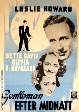 It's Love I'm After 1937 Leslie Howard Bette Davis Olivia de Havilland