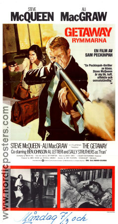 The Getaway 1973 Sam Peckinpah Steve McQueen Ali MacGraw