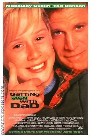 Getting Even with Dad 1994 Macaulay Culkin Ted Danson