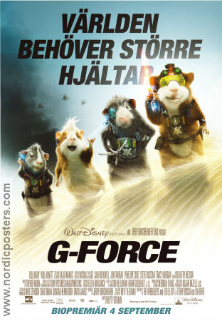 G-Force 2009 Movie poster