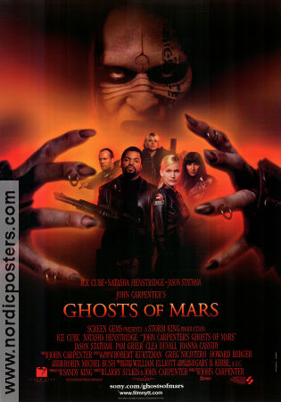 Ghosts of Mars 2001 poster Ice Cube John Carpenter