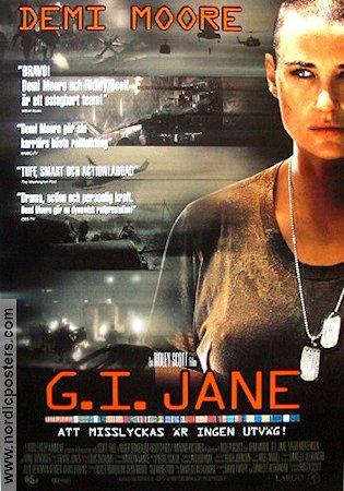 Gi Jane Movie Poster 1997 Original Nordicposters