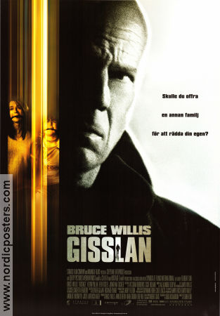 Gisslan 2005 Movie poster Bruce Willis