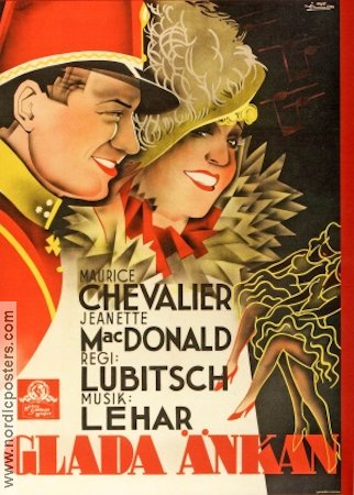 The Merry Widow 1934 Ernst Lubitsch Maurice Chevalier Jeanette MacDonald
