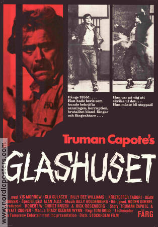 The Glass House 1973 poster