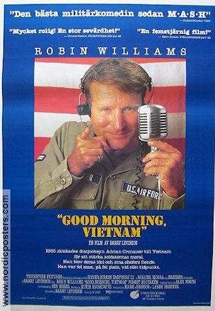 Good morning vietnam 1987 robin williams