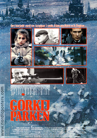 Gorky Park 1983 poster William Hurt Michael Apted