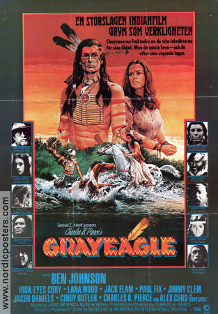 Gray Eagle 1978 poster Ben Johnson Charles B Pierce