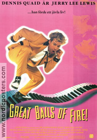 Great Balls of Fire 1989 Dennis Quaid Jerry Lee Lewis
