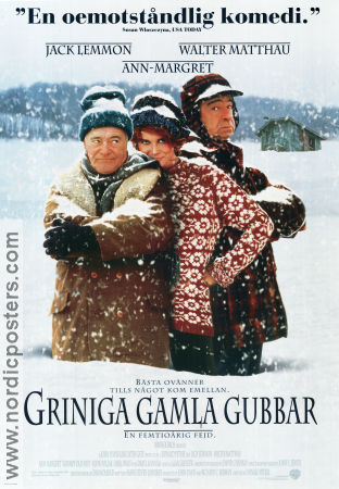 Grumpy Old Men 1993 poster Jack Lemmon Donald Petrie