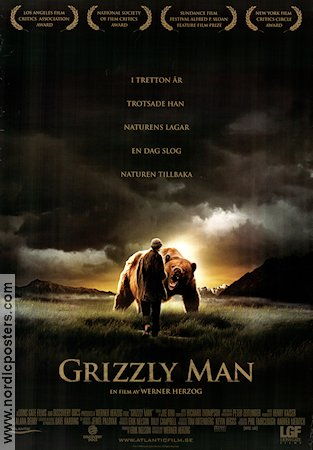 Grizzly Man 2005 Movie poster Werner Herzog