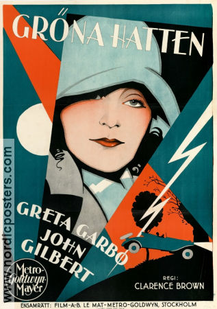 A Woman of Affairs 1928 poster Greta Garbo Clarence Brown