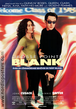 grosse pointe blank movie poster 1999 original nordicposters. Black Bedroom Furniture Sets. Home Design Ideas