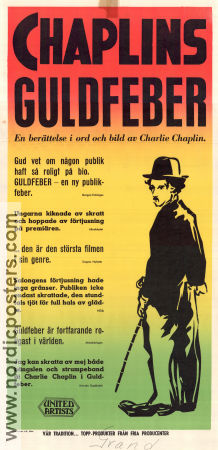 The Gold Rush 1925 poster Charlie Chaplin