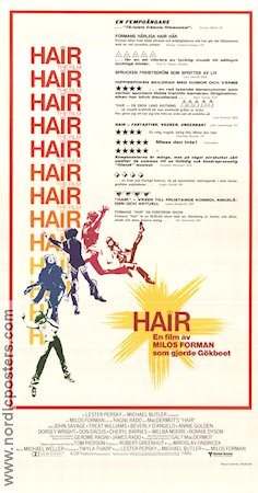 Hair 1979 Milos Forman John Savage Treat Williams