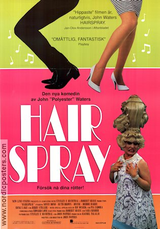 Hairspray 1988 poster Sonny Bono John Waters