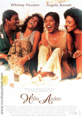 Waiting to Exhale 1995 poster Whitney Houston Forest Whitaker