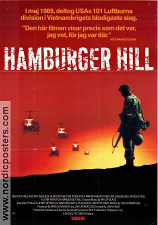 Hamburger Hill Movie Poster 1988 Original Nordicposters