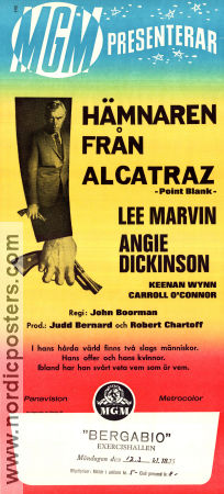 Point Blank 1968 poster Lee Marvin John Boorman