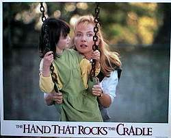 The Hand That Rocks the Cradle 1988 lobby card set Annabella Sciorra