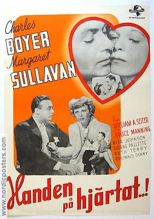 Appointment for Love 1942 poster Charles Boyer