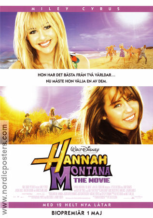 Hannah Montana the Movie 2009 poster Miley Cyrus