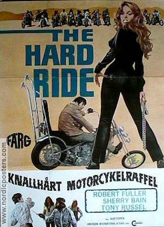 The Hard Ride 1972 poster Robert Fuller