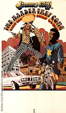 The Harder They Come 1977 poster Jimmy Cliff