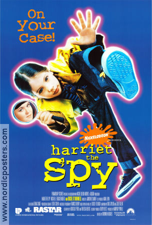 Harriet the Spy 1996 poster Rosie O'Donnell