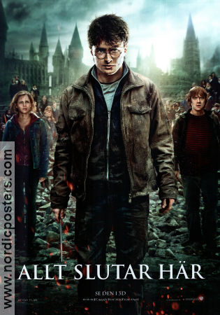 Harry Potter and the Deathly Hallows Part 2 2011 poster Daniel Radcliffe David Yates