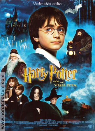 The Philosopher's Stone 2001 poster Daniel Radcliffe