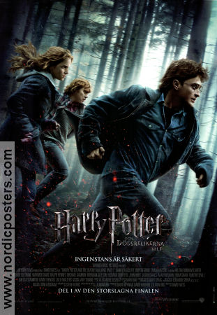 Harry Potter and the Deathly Hallows Part 1 2010 poster Daniel Radcliffe David Yates