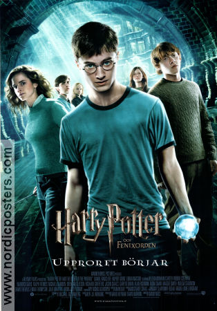 Harry Potter and the Order of the Phoenix 2007 poster Daniel Radcliffe