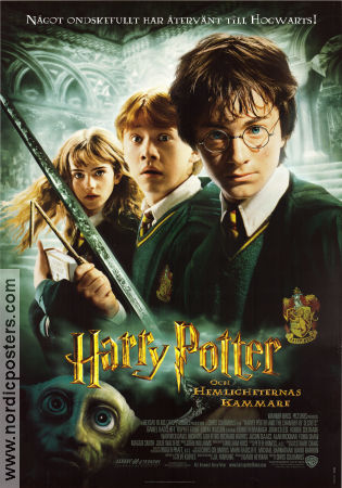 Chamber of Secrets 2002 poster Daniel Radcliffe Chris Columbus