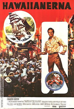 Master of the Islands 1971 poster Charlton Heston